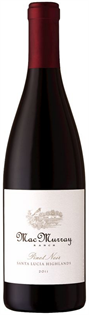 MacMurray Ranch Pinot Noir Santa Lucia Highlands 2011 750ml